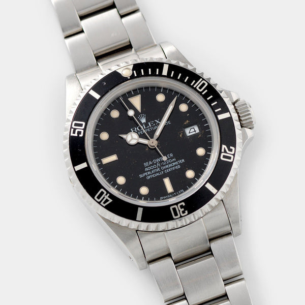 Rolex Seadweller Reference 16660 Box and Papers