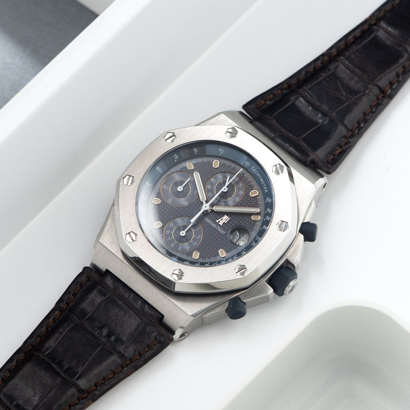Audemars Piguet Royal Oak Offshore 25770 Steel Purple Dial
