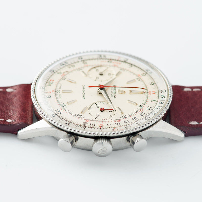 Breitling Cronomat reference 808 Silver Dial