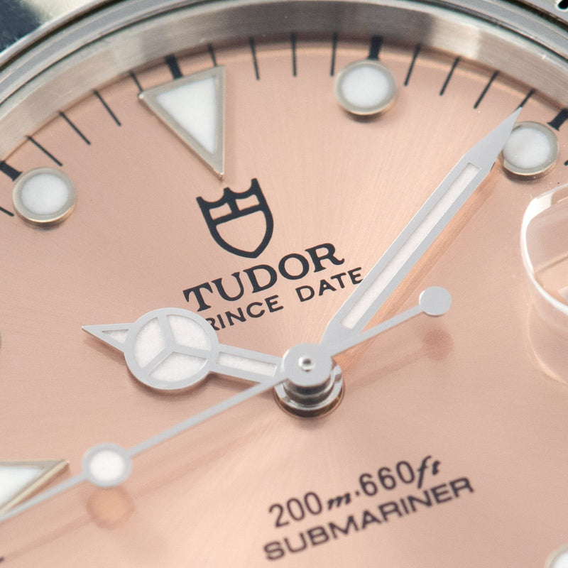 Tudor Submariner Prince Date Salmon Dial Reference 75190