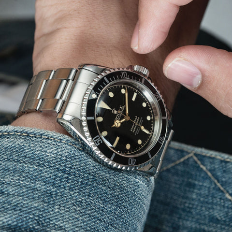 Rolex Submariner 5512 Gilt Four-Line Chapter Ring Dial