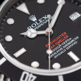 Rolex Pro Hunter Seadweller Reference 16600 Black DLC Coated