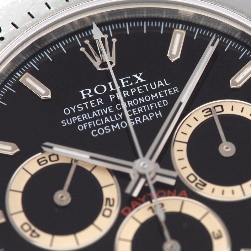 Rolex Daytona Steel 16520 Black Dial