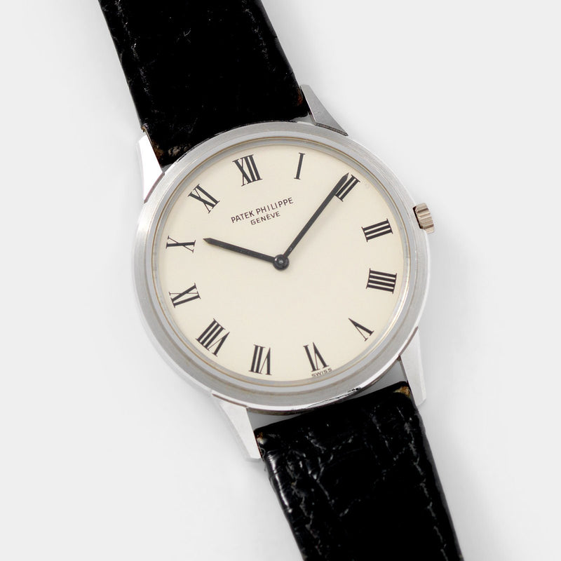 Patek Philippe Calatrava White Gold Reference 3591