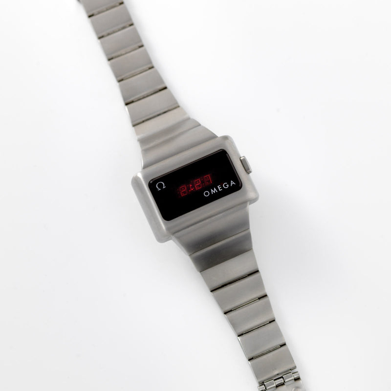 Omega Constellation LCD Watch Ref 1602