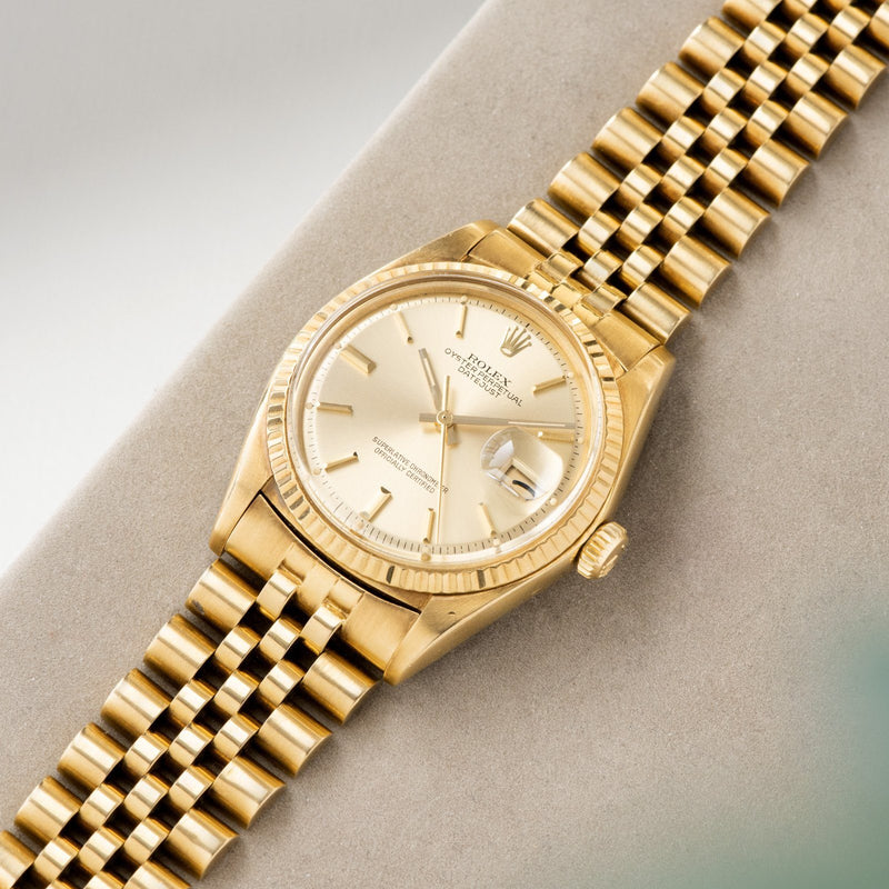 Rolex Datejust Yellow Gold 1601 Sigma Dial