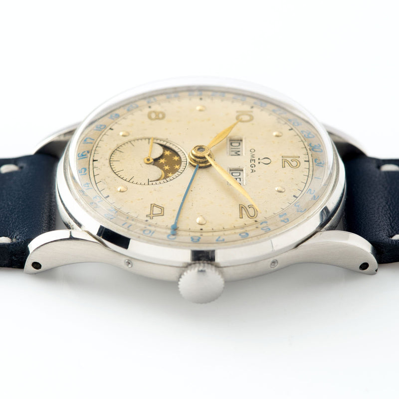 Omega Triple Date Moonphase Cosmic Watch Reference 2471/1