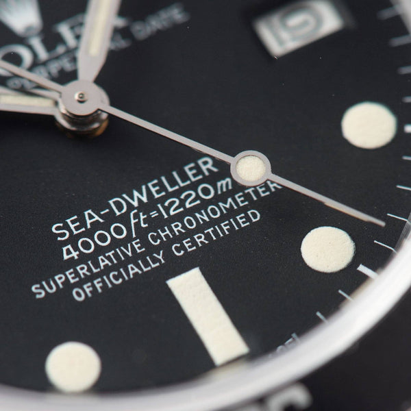 Rolex Seadweller Mk1 Matte Dial Reference 16660