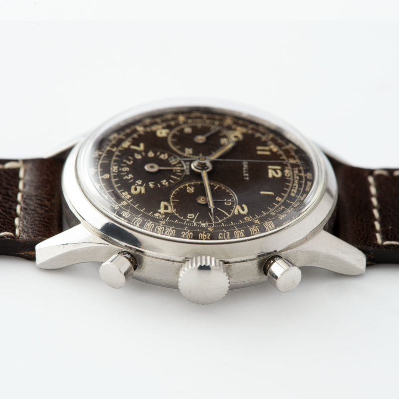 Gallet Multichron Steel Chronograph 12H