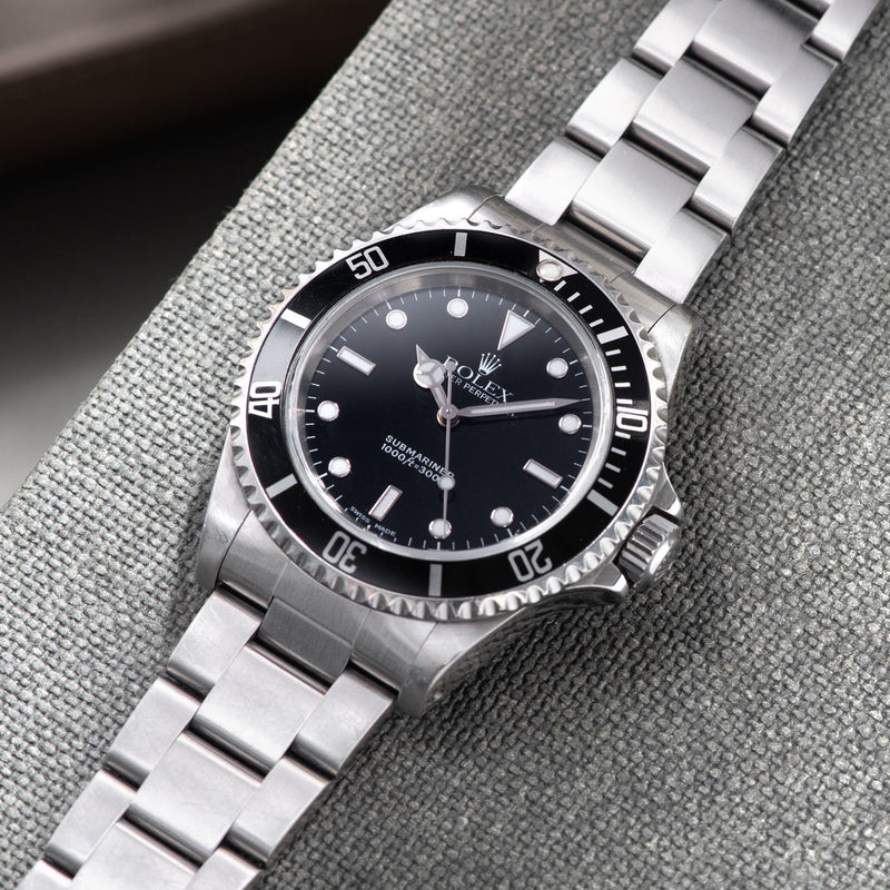 Rolex Submariner Two-Line Dial 14060