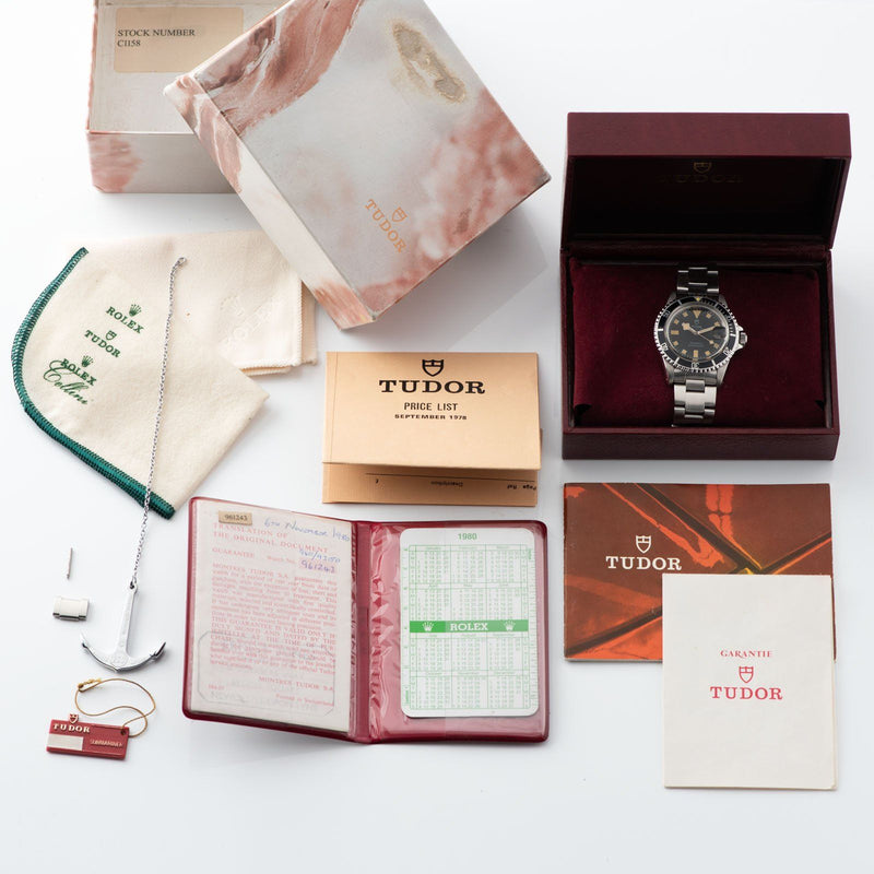 Tudor Submariner Date Snowflake 9411/0 Box and Papers