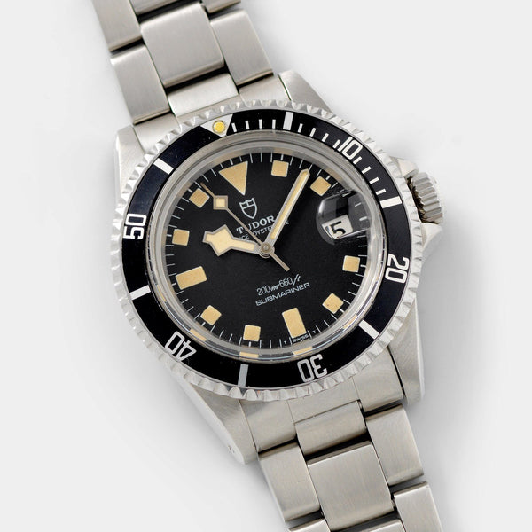 Tudor Submariner Date Snowflake 9411/0 Box and Papers on a oyster bracelet