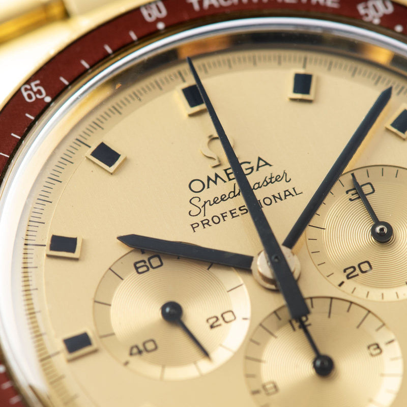 Omega Speedmaster Apollo 11 Gold Ref BA145.022