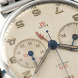 Gallet Multichron Navigator GMT Steel Chronograph