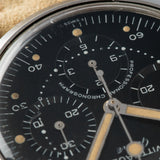 Wittnauer 242T Matte black Dial Steel Chronograph with Matte black dial