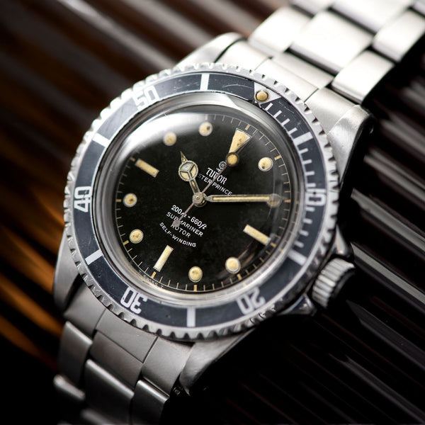 Tudor Submariner Ref 7928 Gilt Chapter Ring Original Owner