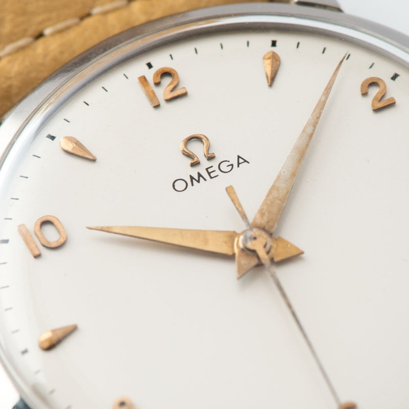 Omega Oversize Steel Dress Watch Reference 2545-1