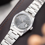 Rolex Datejust Reference 1600 Grey Dial
