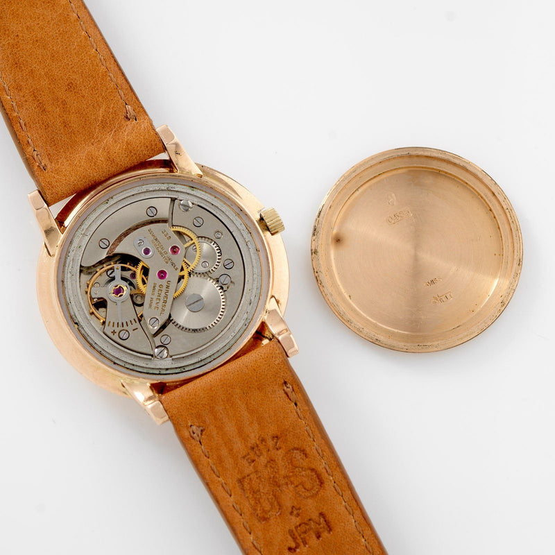 Universal Genève 18 k gold Dress Watch Saudi Armed Forces
