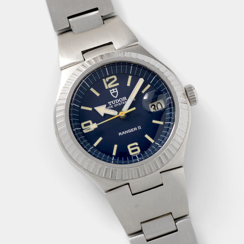 Tudor Ranger 2 Blue Dial Reference 9111/0 with Notched bezel