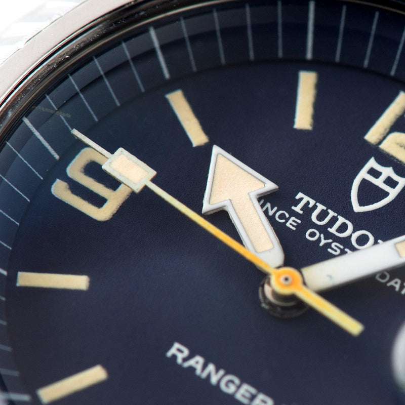 Tudor Ranger 2 Blue Dial Reference 9111/0 with a large arrow hour hand
