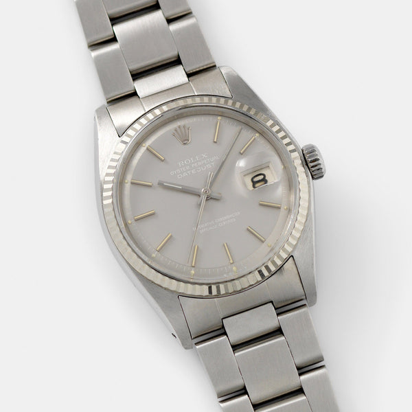 Rolex slow-set Datejust Ghost Dial 1601