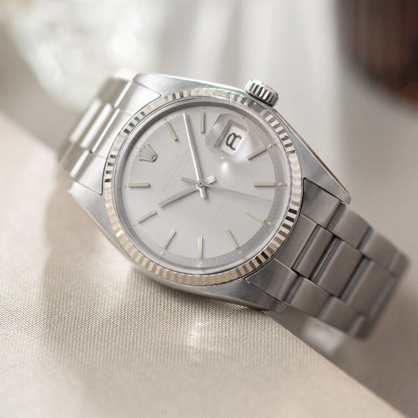 Rolex Datejust Ghost Dial 1601 with nice and thick lugs