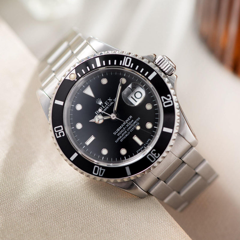 Rolex Submariner Date Reference 16610 with Papers