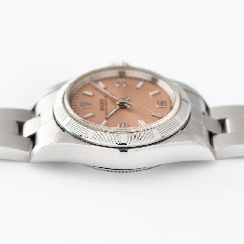 Rolex Oyster Perpetual Lady Ref 67230 Salmon Dial