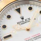 Rolex Yachtmaster Steel and Gold 16623 Onyx Markers