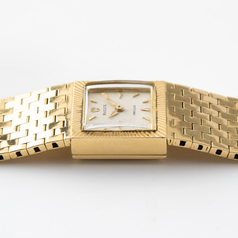 Rolex Precision 18kt Yellow Gold Ref 8209
