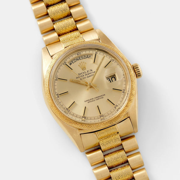 Rolex Day Date Yellow Gold Morellis Finish 1811