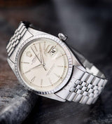 Rolex Datejust Silver Swiss Only Dial 1603 in superb condition