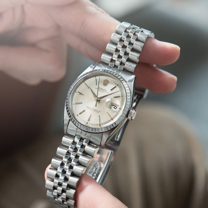 Rolex Datejust Silver Swiss Only Dial 1603