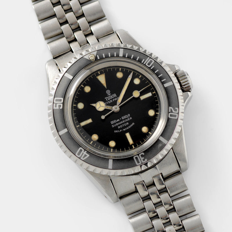 Tudor Submariner Ref 7928 Gilt Minute Track Ghost Bezel 40mm steel case