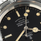 Tudor Submariner Ref 7928 Gilt Minute Track Ghost Bezel with large lollipop seconds hand