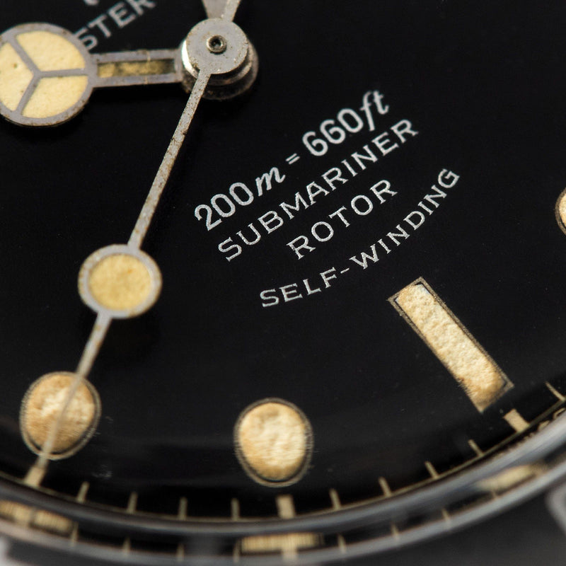 Tudor Submariner Ref 7928 Gilt Minute Track Ghost Bezel