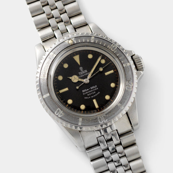 Tudor Submariner Ref 7928 Gilt Minute Track Faded Bezel with cool gilt chapter ring