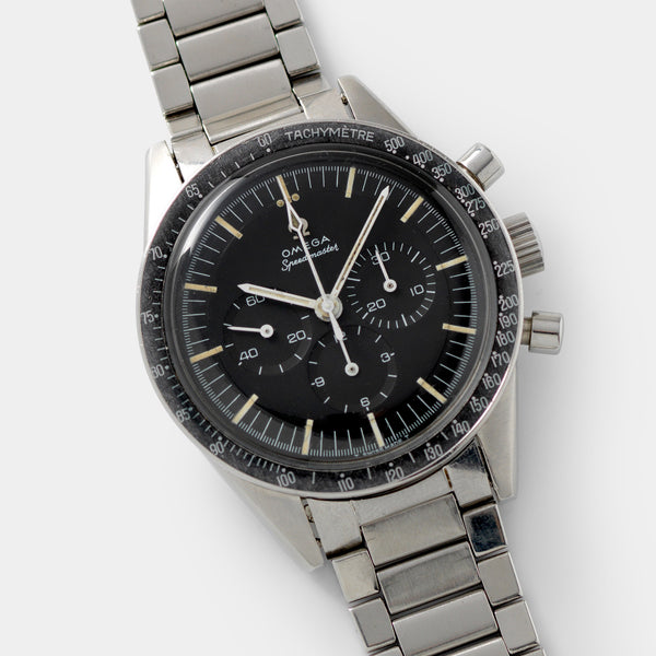 Omega Speedmaster Ed White ref 105.003 with 'dot over 90'  bezel