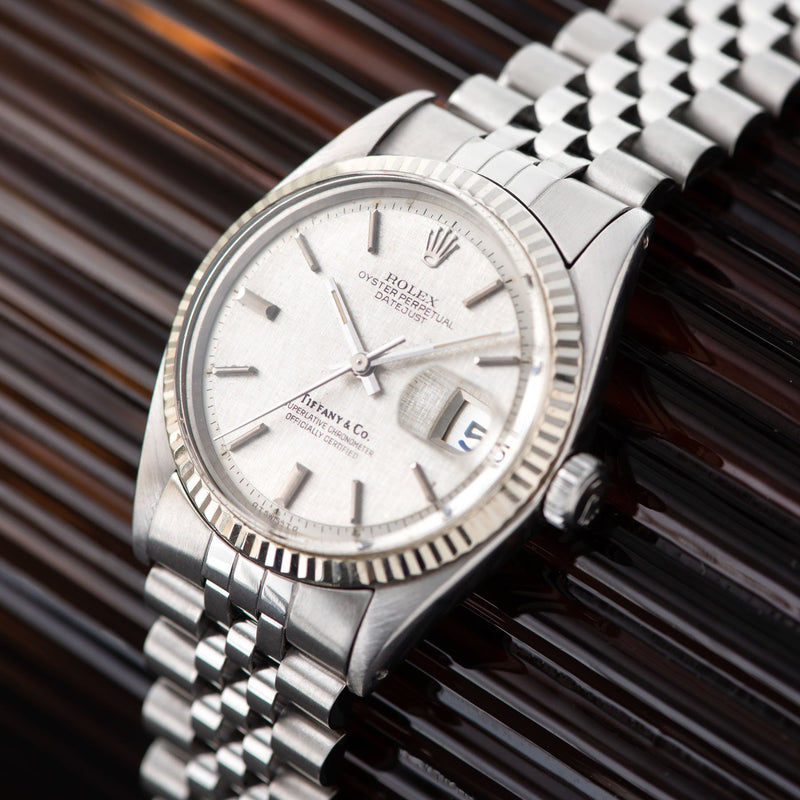 Rolex Datejust Tiffany Dial Reference 1601
