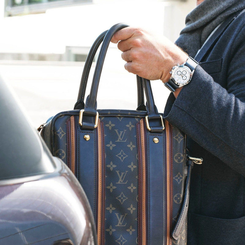 Louis Vuitton Monogram Bequia Porte Document Vertical Bag