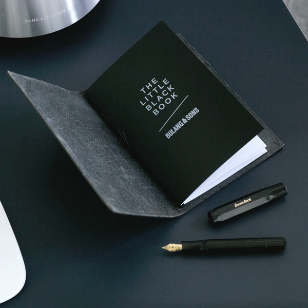 Custom Paper Republic Bulang and Sons Black Note Book
