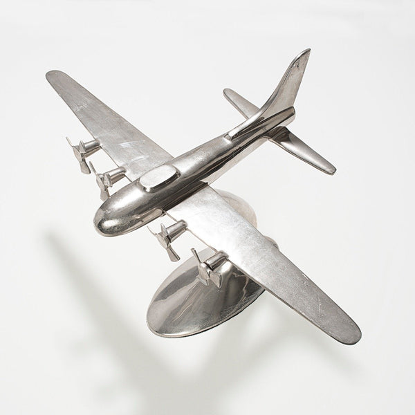 Vintage 1960s Huge Aluminium Air Plane Model