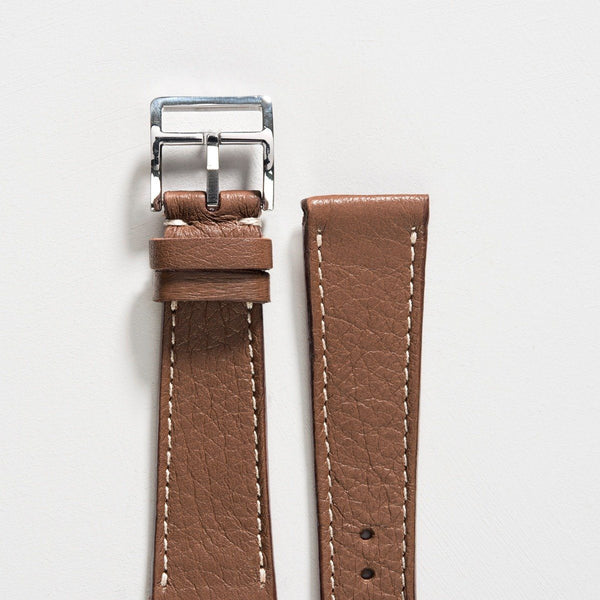 Hazel Brown Leather Watch Strap