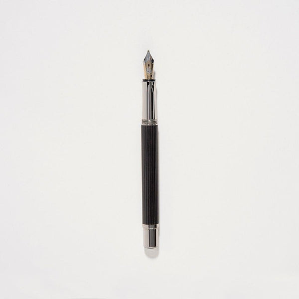 Graf Von Faber Castell Classic Fountain Pen Black Ebony Wood