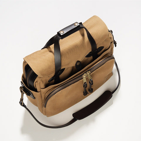 Filson Rugged Twill Padded Computer Bag Tan