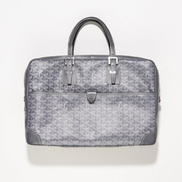 Goyard Ambassador PM Briefcase Grey