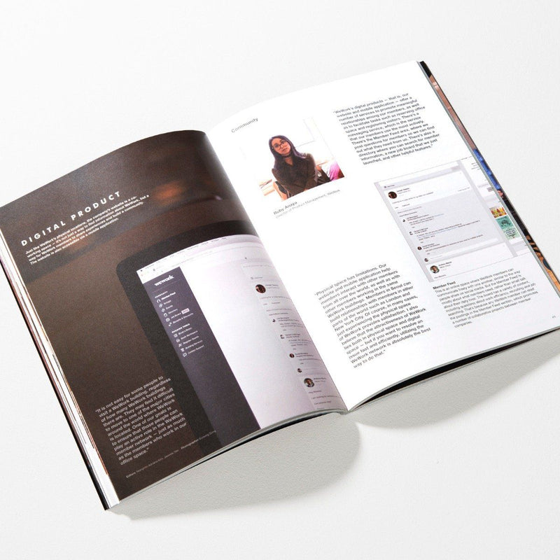 Magazine B Issue 52 WeWork