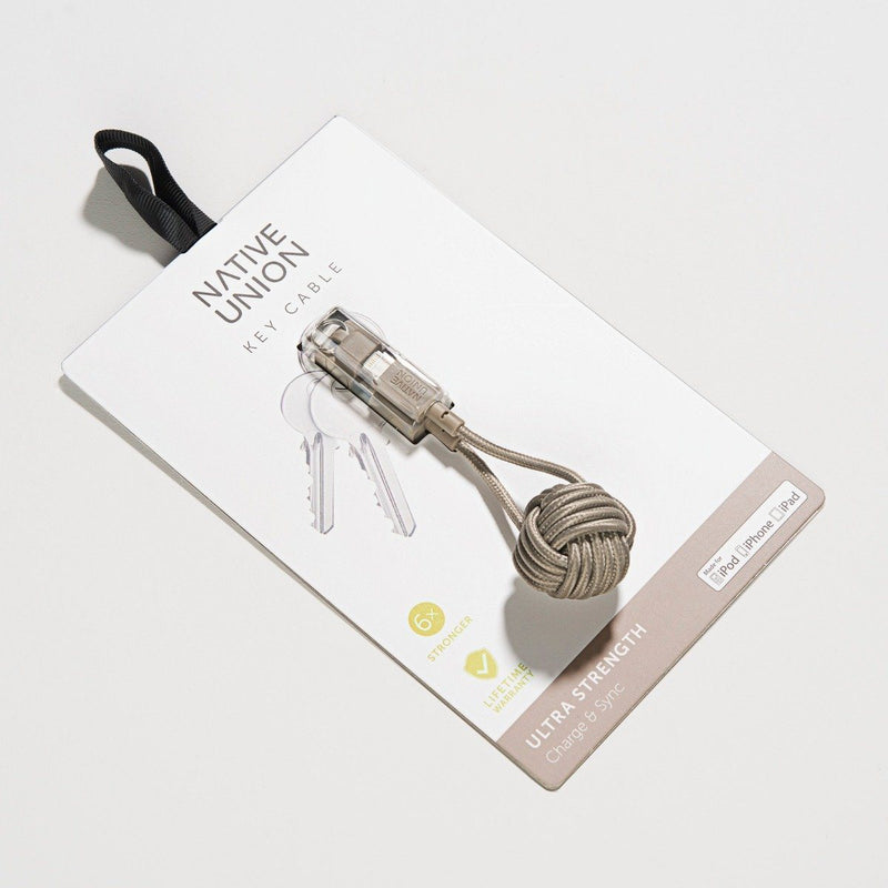 Native Union Key Cable Taupe