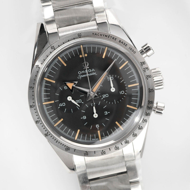 Omega Broad Arrow Speedmaster The 1957 Trilogy Edition 311.10.39.30.01.001 Brand New